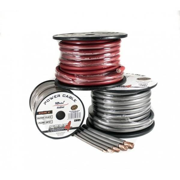 Bilde av 4 CONNECT 70mm2, rød 100% ren kobber